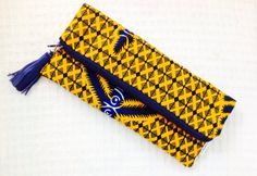 Tribal Clutch Bag African Print Fold Over Clutch by 2chicdesigns