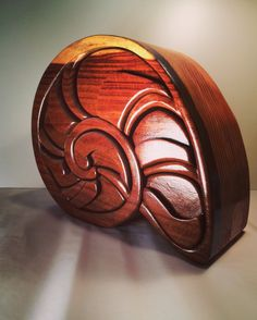 Handmade NAUTILUS JEWELRY BOX With Hidden Drawer by WhackWamBam