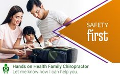 Chiropractic Clinic, Family Chiropractic, Safety First, Back Pain Relief, Holistic Approach, Rsvp, Backpack, Join, Hands