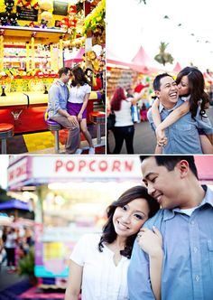 engagement pictures at the carnival - Google Search