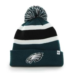Philadelphia Eagles 47 Brand Pacific Green Breakaway Cuff Knit Hat 8b01c0ae6