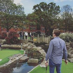 Pin for Later: 21 Unique Date Ideas For the Adventurous Couple Play Minigolf