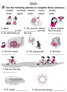 Worksheets Lesson For Grade 2 grammar lessons and grade 2 on pinterest lesson 17 adverbs 3