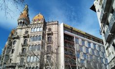 Ancient and modern: two sides of Barcelona!