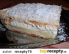 Gazdov krémeš - Báječný vanilkový rez z lístkového cesta - Recepty od babky Dairy, Cheese, Food, Hampers, Kunst, Essen, Meals, Yemek, Eten