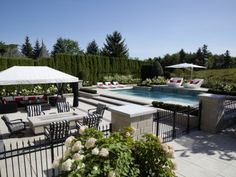 Explore Groupe Paramount and all the possibilities they can open up to you for your home landscaping and pool needs. Experts in landscaping since Outdoor Dining, Outdoor Decor, Home Landscaping, Open Up, Swimming Pools, Outdoor Furniture Sets, Explore, Landscape, Projects