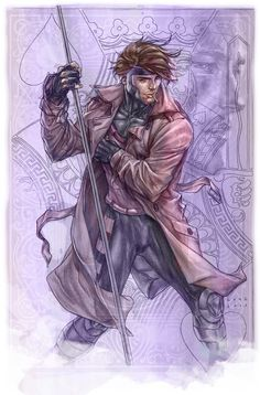 Gambit by Mike Choi *  Auction your comics on http://www.comicbazaar.co.uk