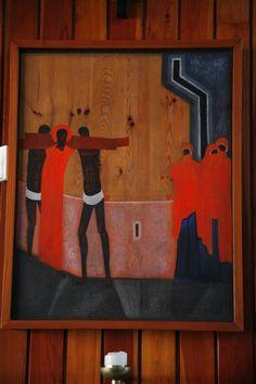 Stacja VIII - Jezus spotyka płaczące niewiasty Christian Images, Sacred Art, Religious Art, Sacramento, Ikon, Contemporary, Modern, Poland, Banners