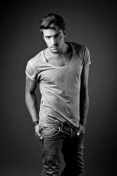 Mariano Di Vaio / Male Models Black & White Photography