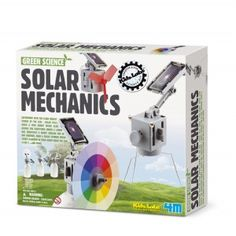 Make a Difference: 30 Eco-Friendly Gifts for Kids Solar Power Kits, Solar Energy System, Used Solar Panels, Planet For Kids, Sun Solar, Science Kits, Mad Science, Alternative Energy, Solar Lights