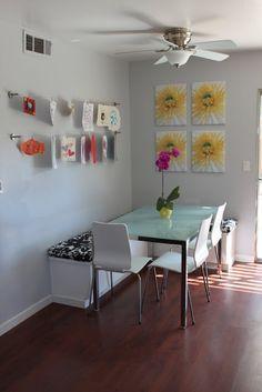 Momma Rake: Kids Art Display Wall