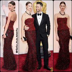 #AdamLevine & #BehatiPrinsloo in #ArmaniPrive... - Celebrity Fashion