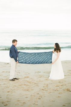 New England Nautical meets West Coast Whimsical Inspiration // Style Me Pretty