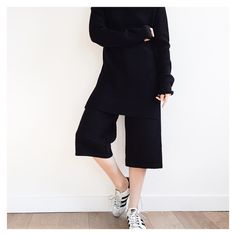 Charlie May textured wool culotte and ribbed tunic from AW15