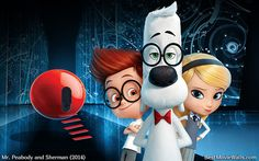 Mr Peabody and Sherman 14 bestmoviewalls 00 by BestMovieWalls on DeviantArt Dreamworks Animation, 3d Animation, Animation Movies, Dual Screen Wallpaper, Mobile Wallpaper, Mr Peabody & Sherman, Disney Pixar, Disney Characters, Troll Party