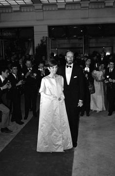 The Fashion of Audrey — The actress Audrey Hepburn photographed with her...