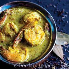 Bengali Mustard Prawn Curry recipe