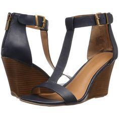 2744386138b Kenneth Cole Reaction Ava Gave (Navy) Women s Wedge Shoes ( 45) ❤ liked