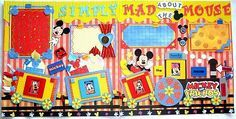 Free Disney Scrapbook Layouts   Disney and Orlando Vacation Scrapbook Pages - Kim's Layout