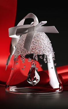 Swarovski Annual Edition 2015 Christmas Bell Ornament