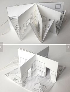 brilliant way to do an architecture / 3d project!