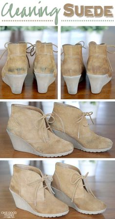 Restore your suede to its original beauty :-)