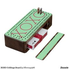 XOXO Cribbage Board
