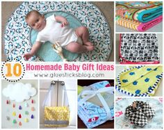 Homemade Baby Gift Ideas