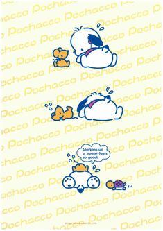 Hello Kitty Characters, Sanrio Characters, Disney Characters, Pochacco Sanrio, Korean Anime, Cute Wallpapers, Cute Pictures, Diy Projects, Snoopy