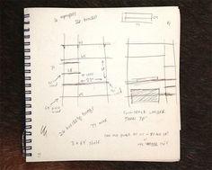 How to make a shelf. Diy Mounted Shelving Unit - Step 1