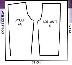 moldes de pantalones para fofuchas - Buscar con Google