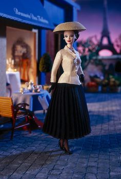 Christian Dior Barbie® Doll  No Longer Available From Mattel  Release Date: 1/1/1997  Product Code: 16013