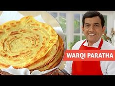 Today we will make Warqi Paratha recipe.How to Make Warqi Paratha step by step recipe. Watch my Warqi Paratha recipe video. Indian Food Recipes, Vegetarian Recipes, Ethnic Recipes, Indian Foods, Curry Bread, Yemeni Food, Indian Flat Bread, Naan Recipe, Eggless Recipes