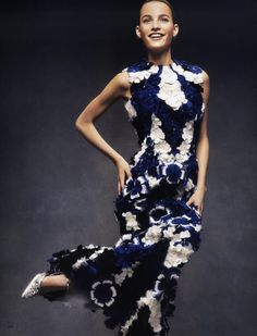 Vogue Japan February 2015 | Maartje Verhoef by Andreas Sjodin - Alexander McQueen