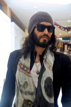 Russell Brand God is he HOT! His guts His mind!! I wish My Daughter would find a Man just like this!!!
