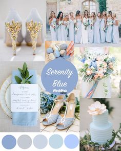 blue wedding Pantone colours of the year - Our favourite ideas for ways to use Serenity Blue in your wedding colour scheme! Add it to your cake, shoes, flowers and more! Get more inspiration on the Wedding Ideas website! Perfect Wedding, Dream Wedding, Wedding Day, Wedding Blue, Trendy Wedding, Elegant Wedding, Periwinkle Wedding, Wedding Venues, Beach Wedding Colors