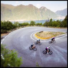 Climbing up the switch backs. Follow us @gwcycling #bicidacorsa #bikesfromthebunch #cyclingpics #cyclinglove #cyclingkit #cyclingapparel