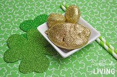 I don't know about you but I could sure use a little more of luck in my life. These Lucky Leprechaun Rocks are fun to make and might just bring that extra bit of luck you have and I been searching for! Who doesn't love sparkly things? That is why these are so fun to make. They are easy which means you can have your kiddos help better yet, make one night a craft night and let the kids go wild! Plus these only cost a few dollars and the majority of the items can be found at the dollar
