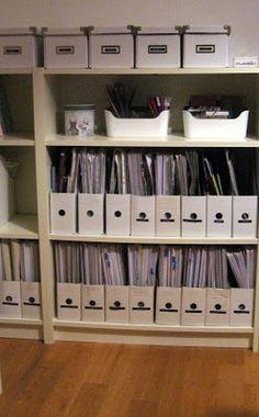 sorriso a 365 giorni: Paroladordine: organizzare lo studio (2) - cataloga e suddividi i documenti in portariviste e scatole chiuse