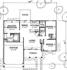 First Floor Plan image of The Collins