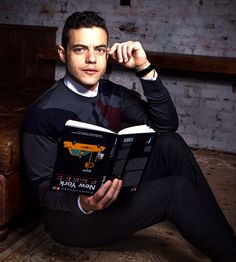 Rami Malek for Bloomberg Magazine (2015)