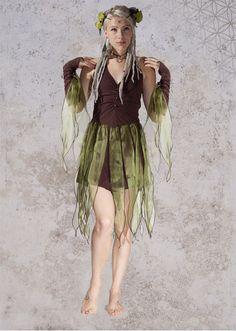 a wood fairy or elf