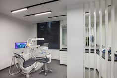 Batı Orthodontic Dental Polyclinic | slasharchitects Dental Office Design, Dental Offices, Dental Phobia, Istanbul, Clinic Design, Space Interiors, Orthodontics, Location, Interior Inspiration