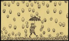 Artist Don Kenn opens a window to a different world when he draws monsters on post-it notes. - http://m.tickld.com/x/31-horrifying-monster-drawn-entirely-on-post-its