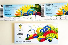 FIFA World Cup 2014 Tickets Images, Photos, Pictures, Pics