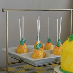 Pineapple party idea