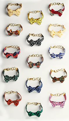 Vickers Bow Bracelets by classygirls for kieljamespatrick.com #Bracelets #Bow_Tie