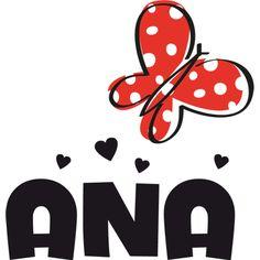 #Vinilo #infantil personalizado con nombre y #mariposa