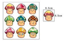 Wall Stickers for Kids Stick Wall Decals Wall Decals Decoration Wall Sticker Decal - Mushroom by bigbvg, http://www.amazon.com/dp/B0088I7SFQ/ref=cm_sw_r_pi_dp_t0f0pb0J67PZA