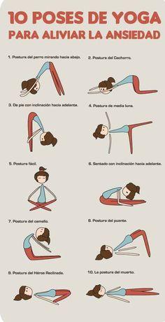 El yoga no solo es una buena manera de ejercitarte, también ayuda a aliviar el estrés y la ansiedad.